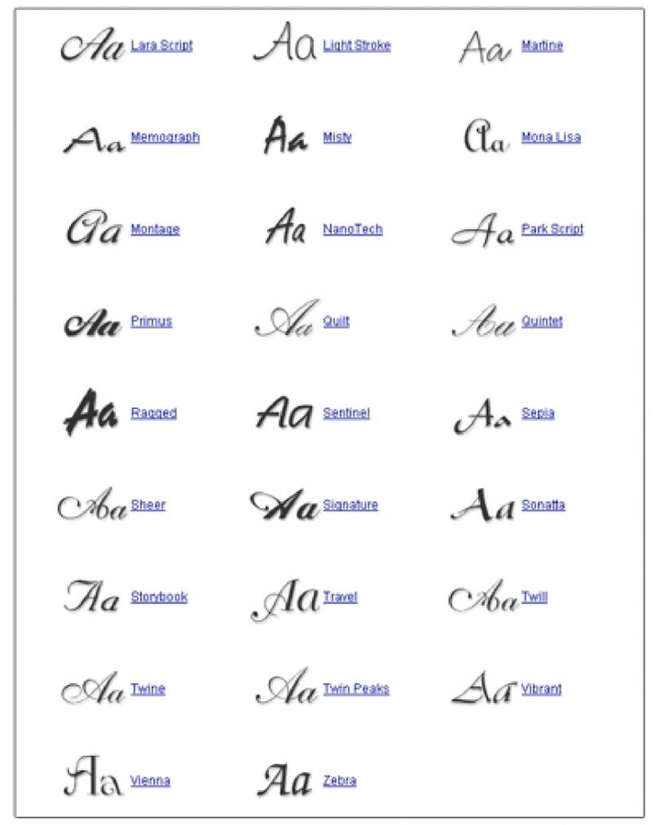 1000 Images About Tattoo Writing Styles On Pinterest