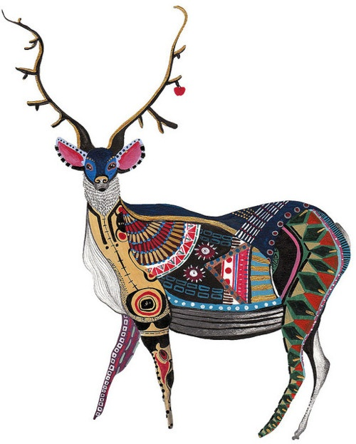 Mr. Stag by Anna Brinded