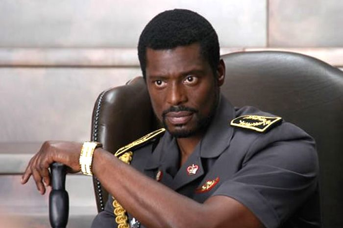 Eamonn Walker. I know he is a psycho in Lord of War but there is something so smooth and lovely about him.