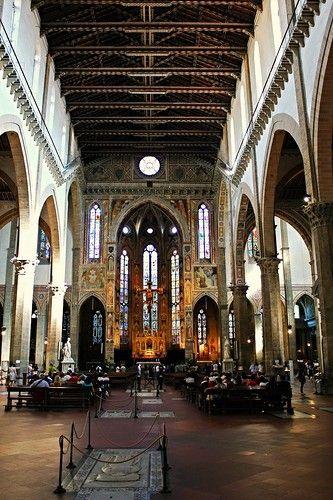 Церковь САНТА КРОЧЕ--святой крест Усыпальница великих людей ИТАЛИИ...