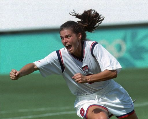 inspired multitudes of young girls to form the soccer world today (Mia Hamm)