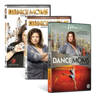 Dance Moms DVD Bundle http://www.mylifetimestore.com/dance-moms-dvd-bundle/details/48011022?cid=social-pinterest-m2social-product&current_country=US&ref=share&utm_campaign=m2social&utm_content=product&utm_medium=social&utm_source=pinterest $39,99