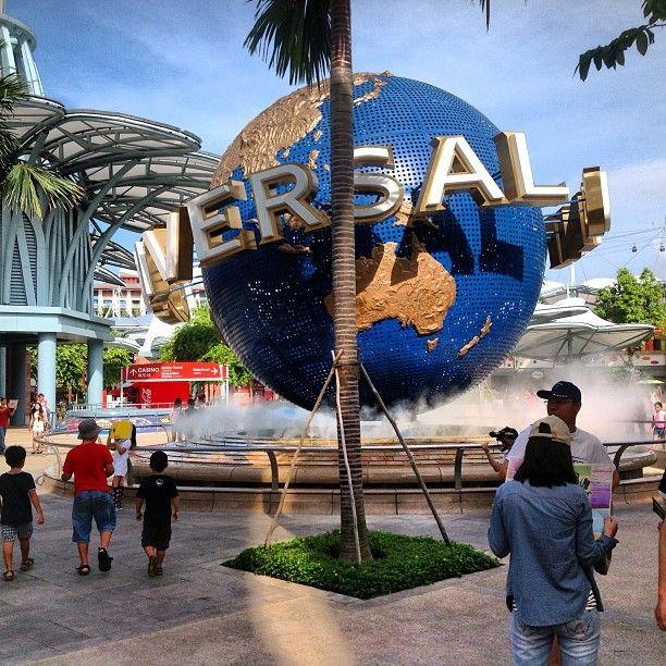 Universal Studios Singapore in Sentosa Island