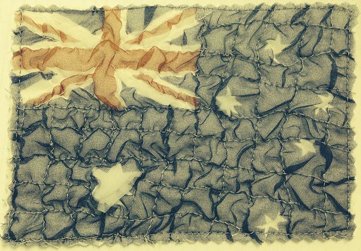 Australian Flag by Deb Othams