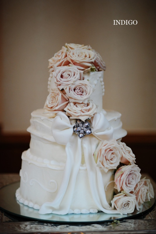 Love The Flowers On The Cake.