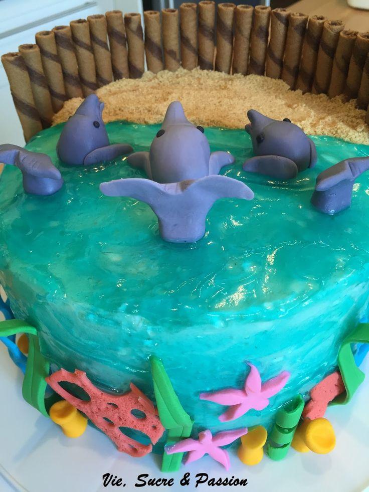 les 25 meilleures idées de la catégorie gâteaux de dauphins sur