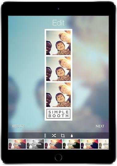 ipad app for easy diy photo booth