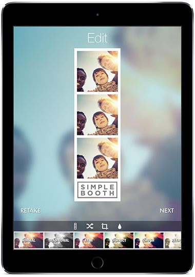 ipad app for easy diy photo booth