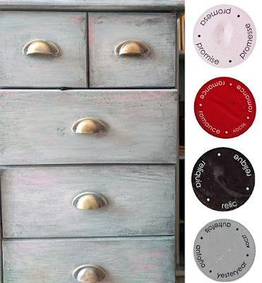 Americana Decor Chalky Finish Paints: Dresser
