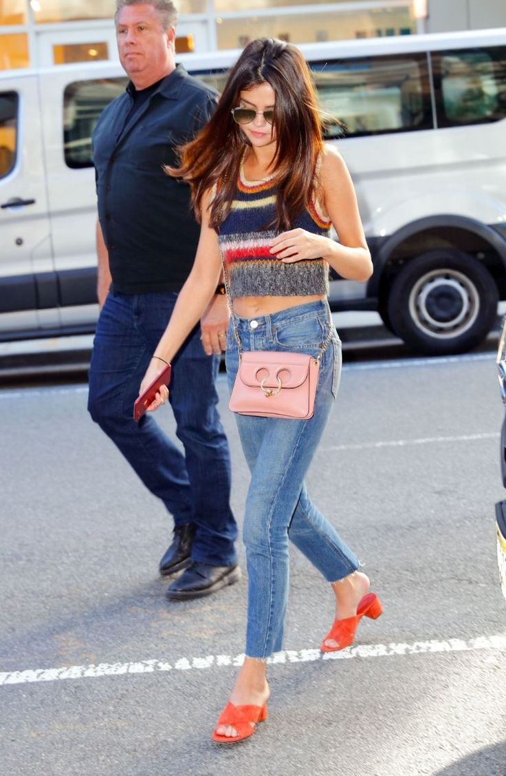 Selena Gomez wore three amazing outfits in just one day