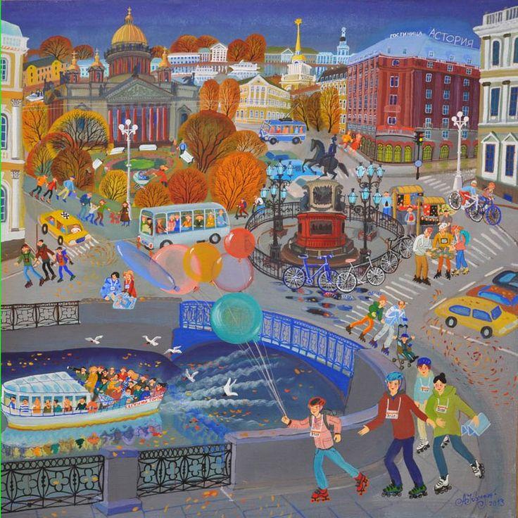 Saint Petersburg by Anna Kazhdan_Анна Каждан