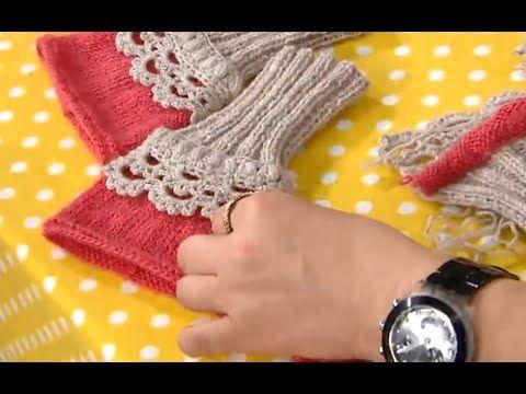 Eldiven modeli - Derya Baykal örgü eldiven yapılışı - YouTube