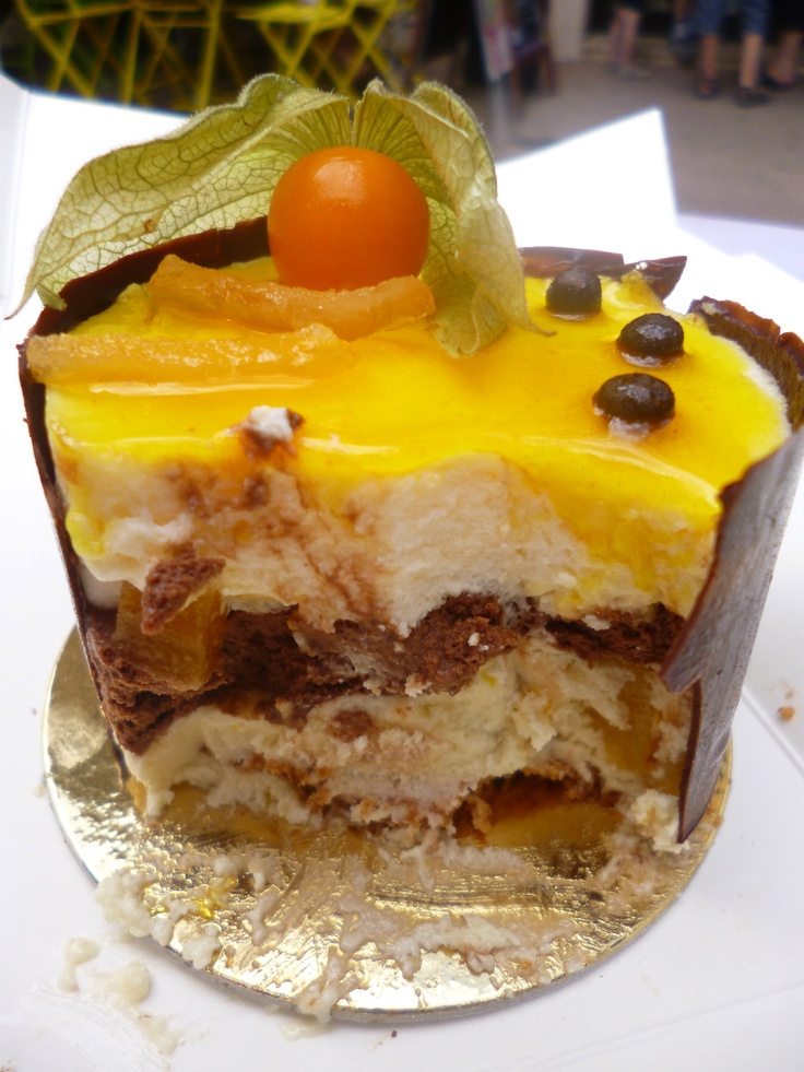 A delicious treat from a patisserie in the gorgeous town of Beaune, Burgundy, France.