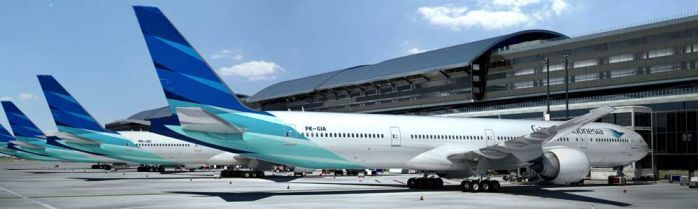 Garuda Indonesia First Boeing 777 300ER