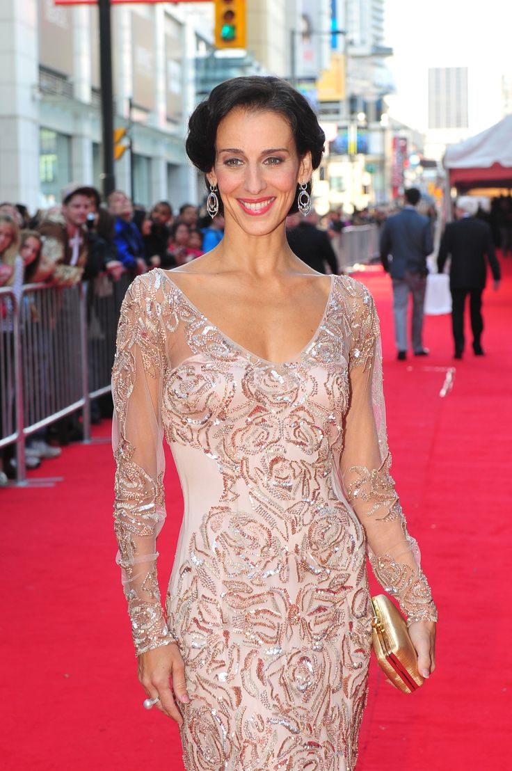 Sonia Rodriguez at the Canada's Walk of Fame Red Carpet in 2012.