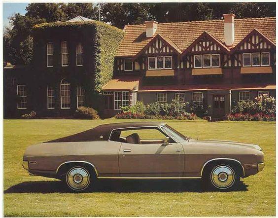 For The Love Of Cars  1975, Ford Landau Hardtop Press Photo (Australia)
