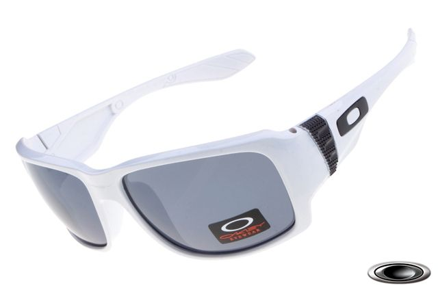 f36a0e8fce low-priced Oakley Big Taco White Frame Grey Lens on sale online ...