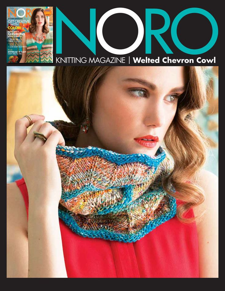 Welted Chevron Cowl in Noro Kibou - 30 - Downloadable PDF. Discover more patterns by Noro at LoveKnitting. We stock patterns, yarn, needles and books from all of your favourite brands.