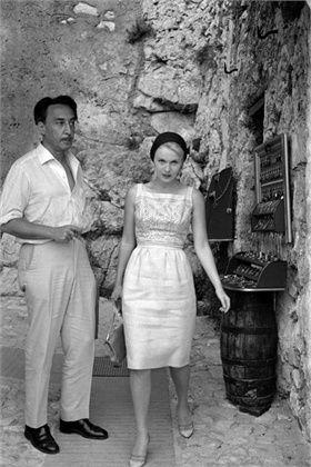Romain Gary e Jean Seberg,   Roquebrune-Cap-Martin, 1963  © Corbis