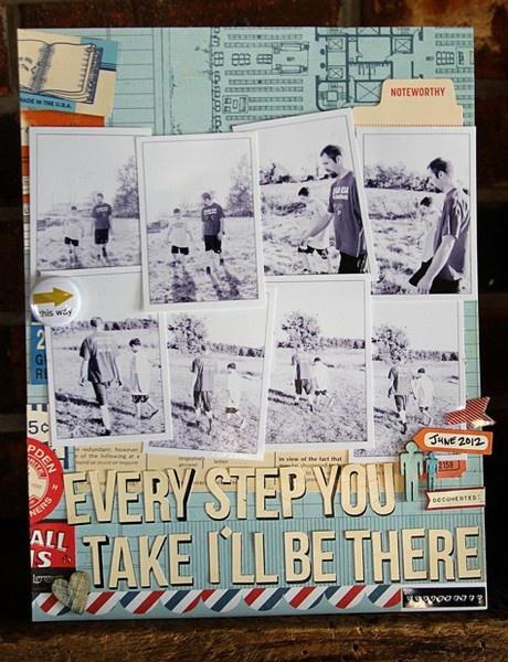 Mandy Koeppen // Cocoa Daisy: Photo Layout, 11 Layout, Amazing Layout, Scrapbook Galleries, Scrapbook Idea, Papercraft Projects, Scrapbook Layout, Cocoa Daisies, Card Scrapbook