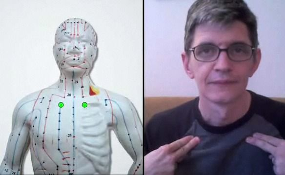 The next time you're hacking up a lung, try stopping it with the ancient Chinese healing art acupressure.