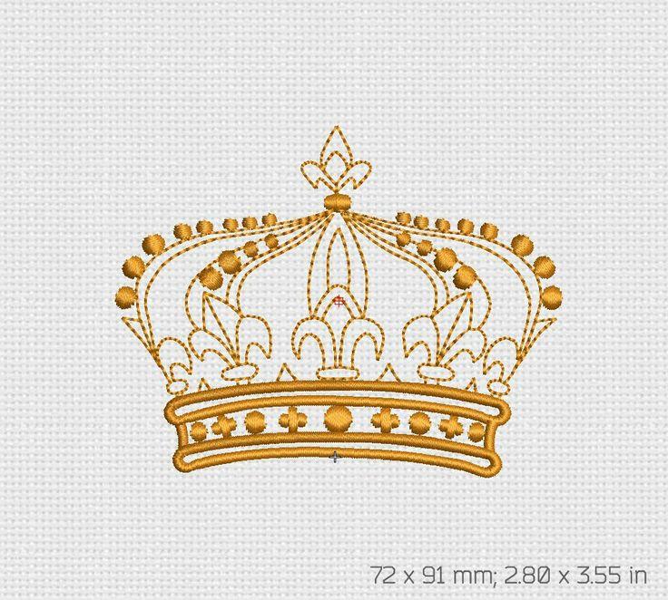 картинки вышивок короны итоге