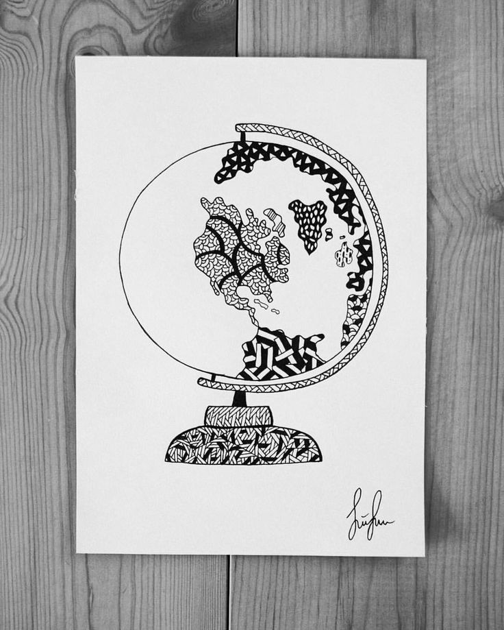 https://www.instagram.com/simonestubgaard/ what inspires you? for me it can be said in two words THE WORLD  #inspiration #art #drawing #globus #theworld #travel #artsy #pendrawing #motivation #artist #simonestubgaard