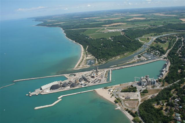 Goderich Harbour and Airport