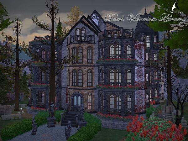 Aveniccix S Dark Victorian Library No Cc Victorian