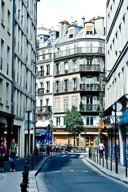 Le Marais, Rue de Jouy, Paris