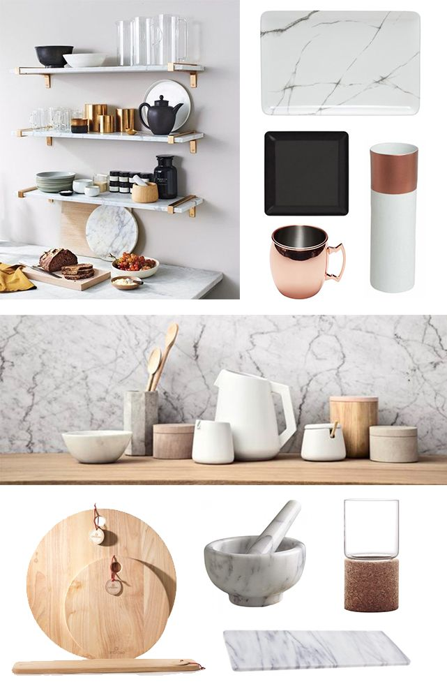Styling Marble  Add a lux vibe to your home with the Marble trend! From bathrooms to kitchens, to jewelry, the marble trend can be seen everywhere at the moment.  We show you our favourite marble products from House give you marble styling inspiration!