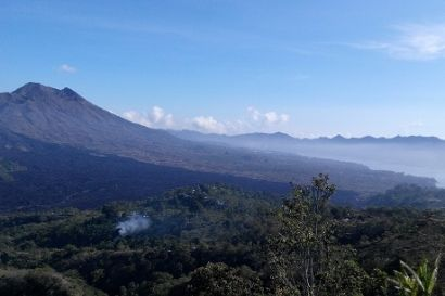 Kintamani is a tourist place in the village of Batur, Kintamani district, Bangli Regency. Kintamani is a mountainous area located at an altitude of 1,700 above sea level