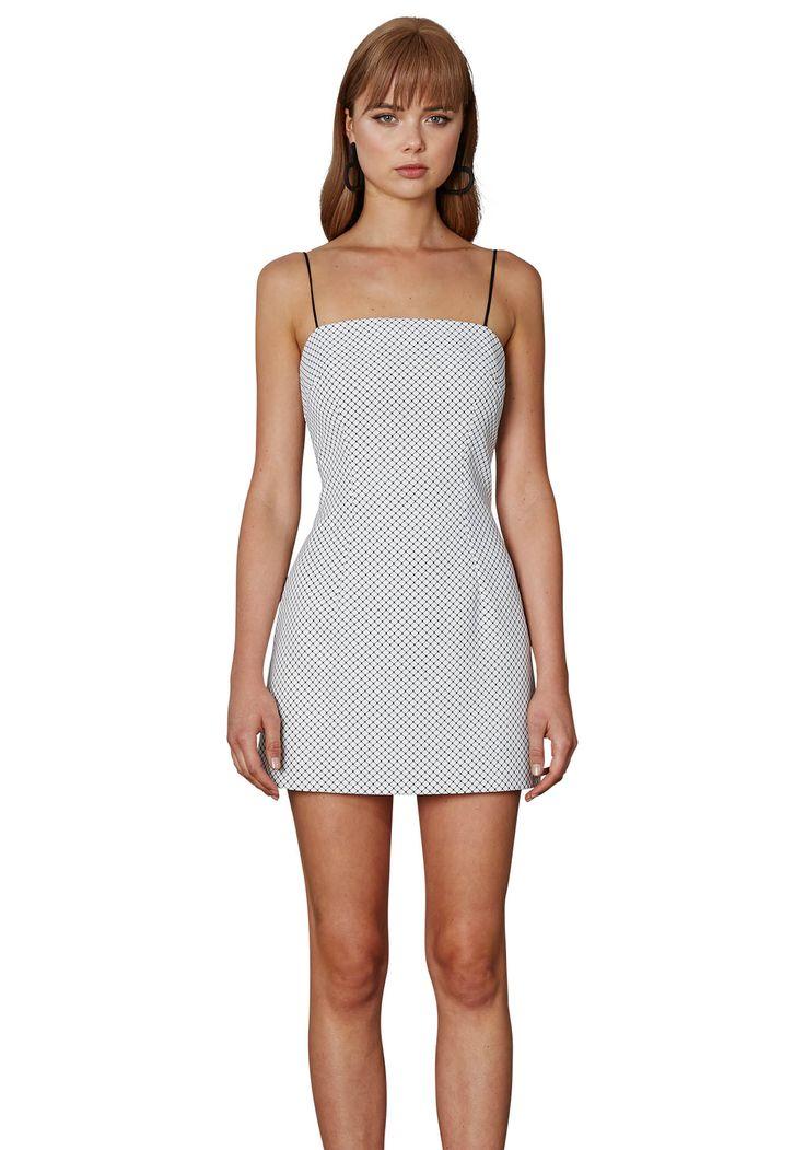 BY JOHNNY. Black Wire Pocket Mini Dress | Contemporary Australian Womenswear
