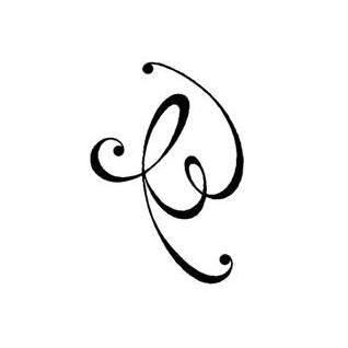 17 best ideas about initial tattoos on pinterest tattoo fonts for names monogram tattoo and. Black Bedroom Furniture Sets. Home Design Ideas