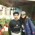 Nakul with Sushmita Sen