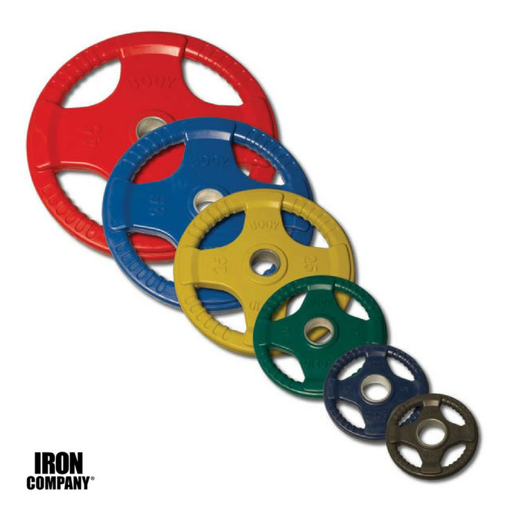 Best colored rubber olympic weight plates for bodybuilding