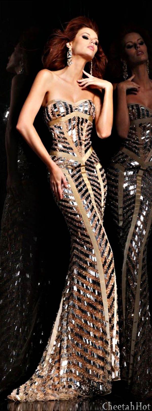 SHERRI HILL - Glittering Gown