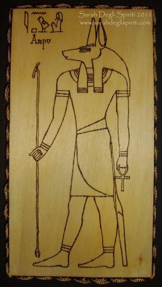 Anpu/Anubi.  (venduto)