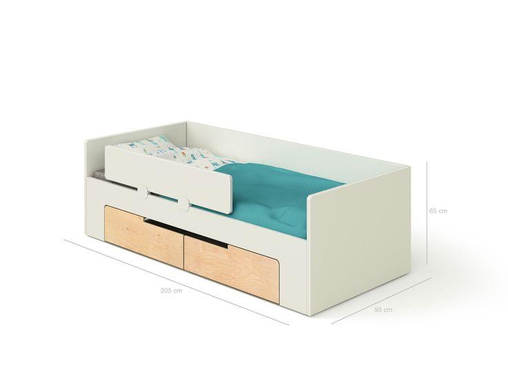 Roket - Dětská postel - nábytek DEVOTO - Designový moderní dětský pokoj pro předškolní i školní děti.