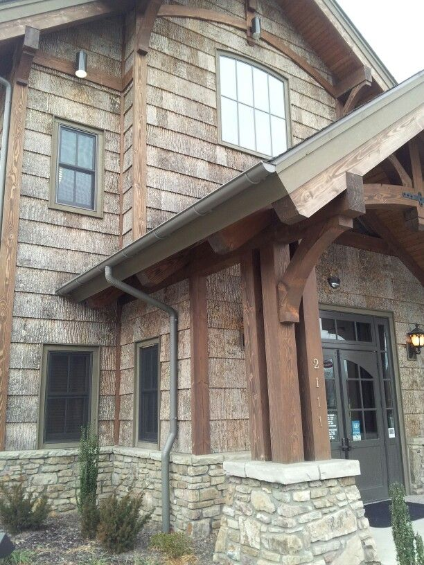 45 Best Images About Poplar Bark Siding On Pinterest