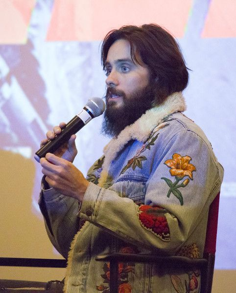 Jared Leto Photos - Actor Jared Leto is interviewed at the Code Blade Runner 2049 screening event at the Alamo Drafthouse New Mission on October 5, 2017 in San Francisco, California. - Jared Leto Photos - 4 of 4473