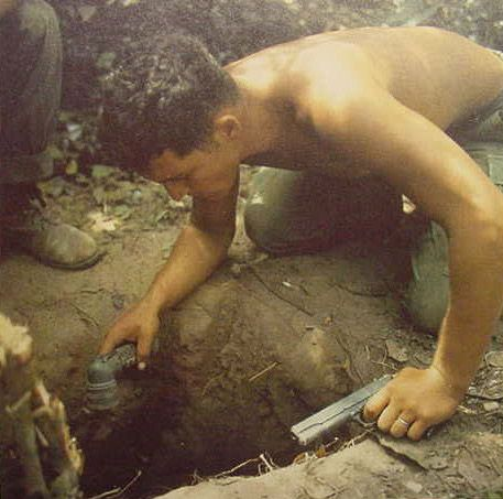 Vietnam War Tunnel Rat And Then Destroy The Tunnel Thus