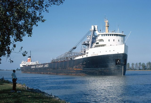 welland ontario | ... bulk carrier of Canada Steamship Lines, Welland Canal, Ontario (1969