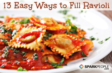 13 Healthy Ravioli Fillings (and an Easy Way to Make Them) (use gluten free wonton wrapers; use gluten free ingredients in your fillings like bacon)
