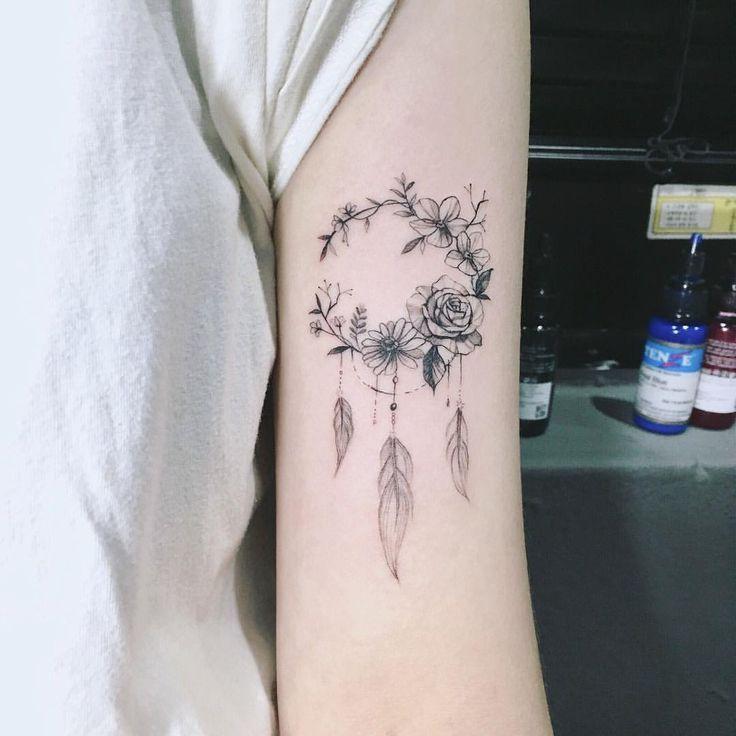 Minus die Federn #tattootatuagem – Ania J