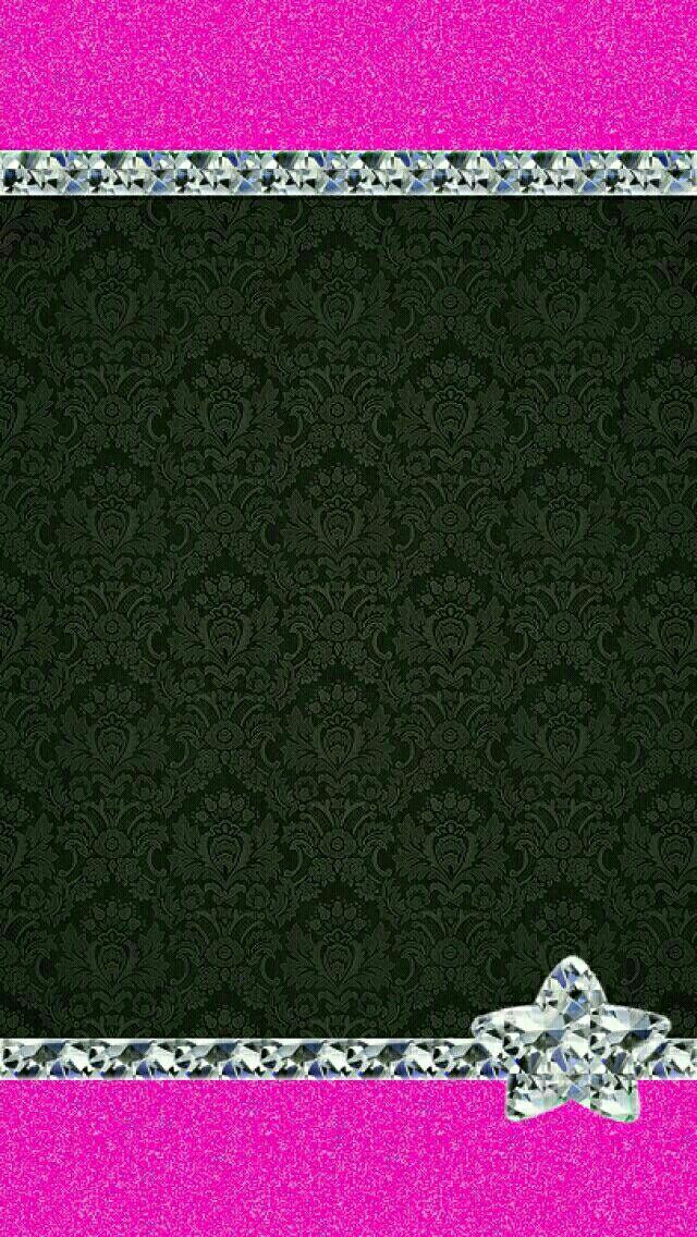 579 besten diamonds gems crystals ect wallpaper bilder for Schwarze glitzer tapete