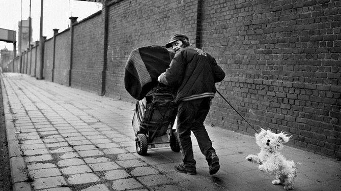 Stephan Vanfleteren IL EST CLAIR QUE LE GRIS EST NOIR Résidence à Charleroi Musée de la photographie Charleroi 2015