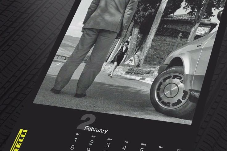"Viel nackte Haut bei ""The Cal"" - Pirelli-Kalender 2015"