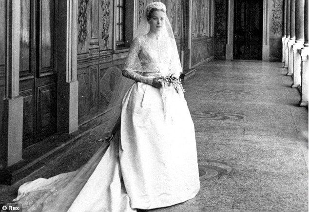 Princess grace of monaco perfection wedding gowns for Princess grace wedding dress