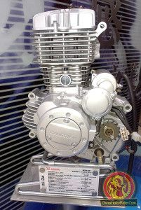PZ150 motorcycle engine